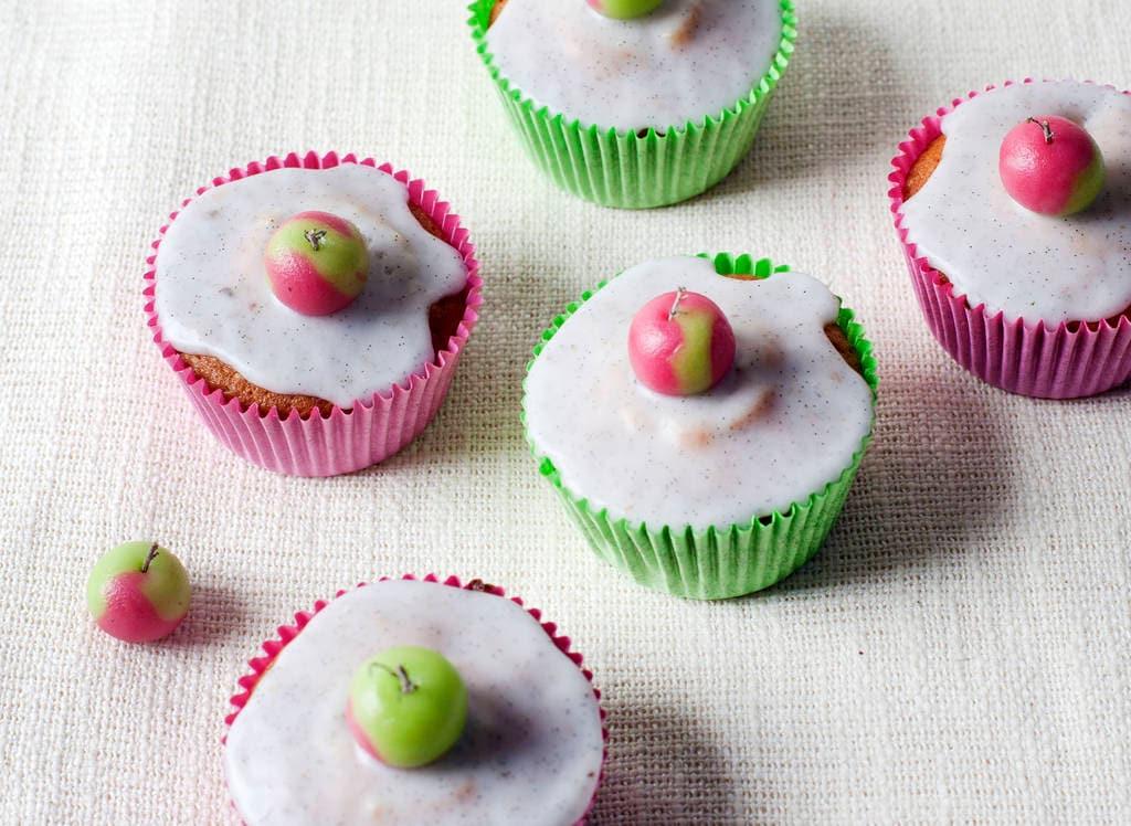 Cupcakes met appel