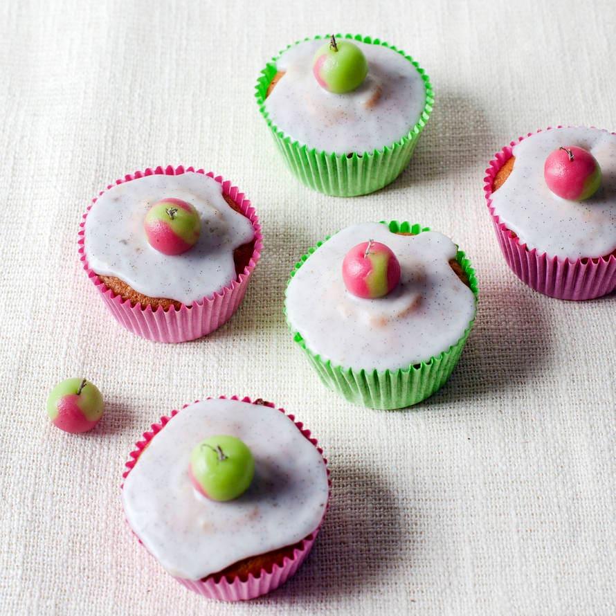 Appel-kaneelcupcakes