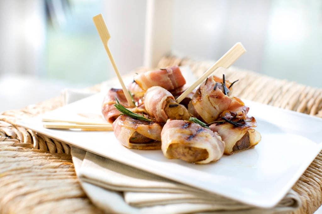 Bbq-recepten met champignons