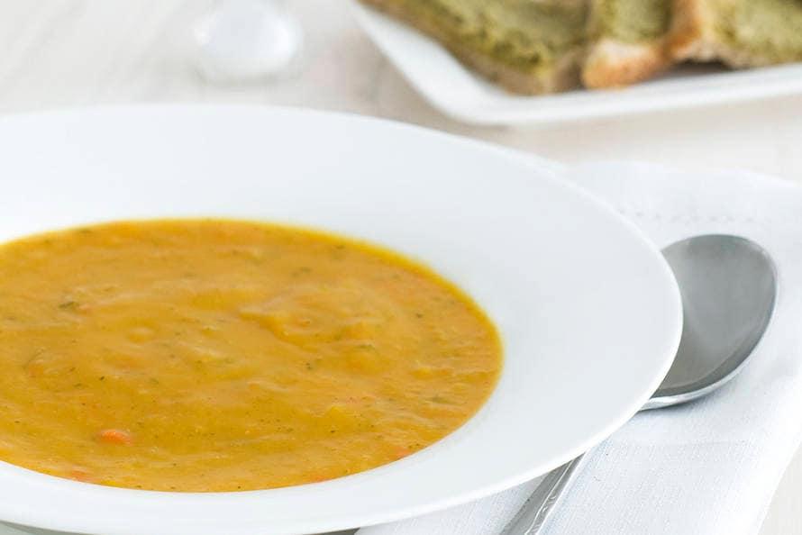 albert heijn recepten pompoensoep