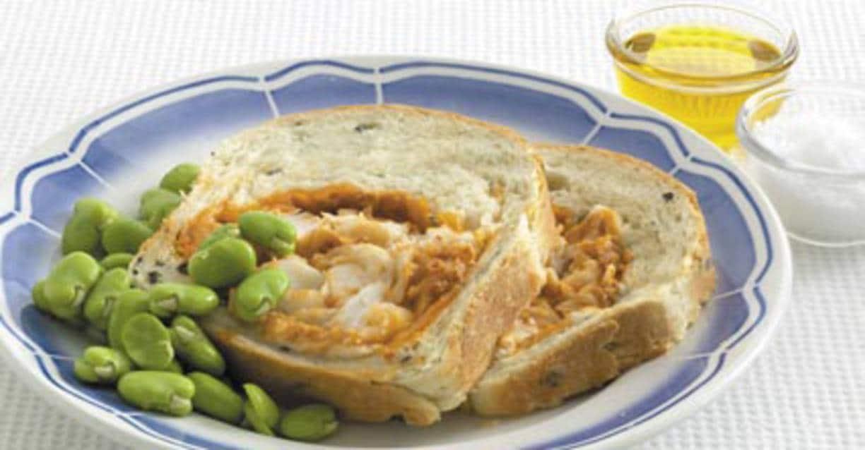 Mediterraan kabeljauwbrood