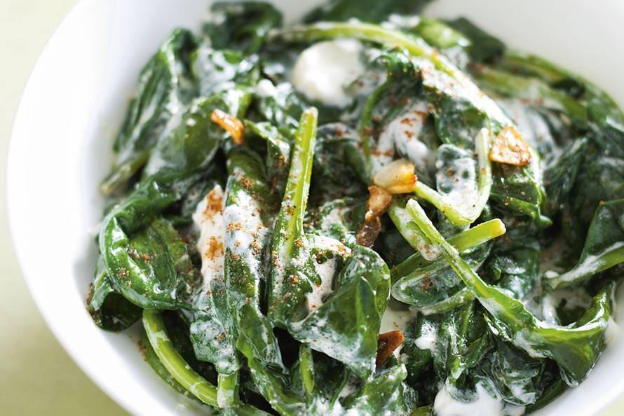 verse spinazie recept wok