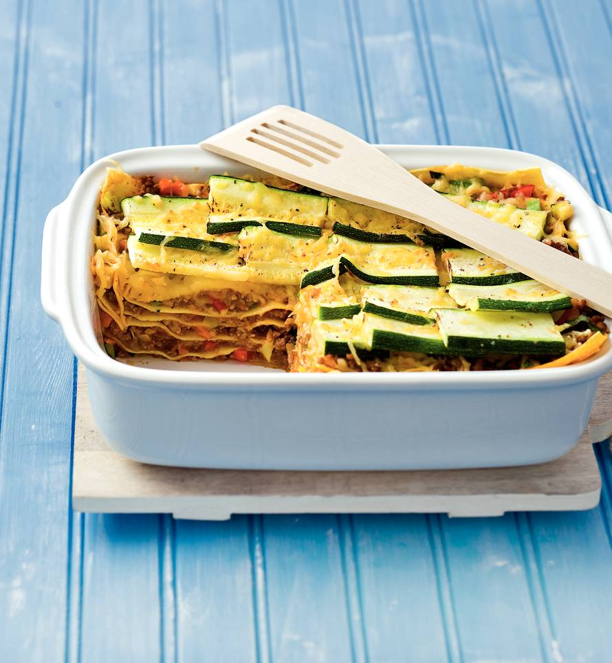 Courgettelasagne