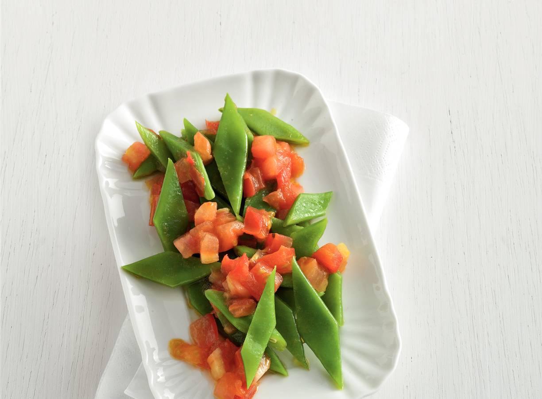 Snijbonen met tomaat en komijn
