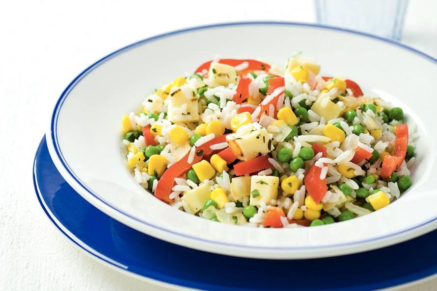 koude rijst gerechten