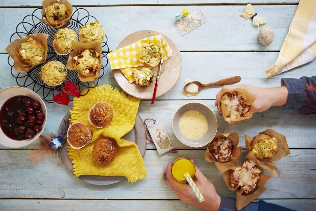 Cupcakes met kaas
