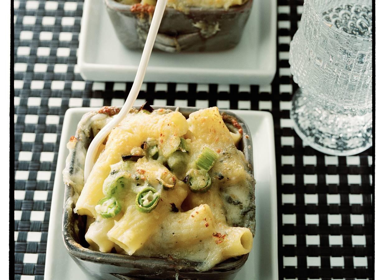 Mac and cheese met gorgonzola