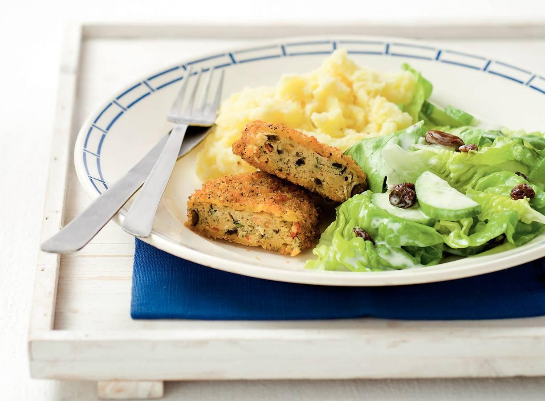 Griekse rondo met komkommersalade