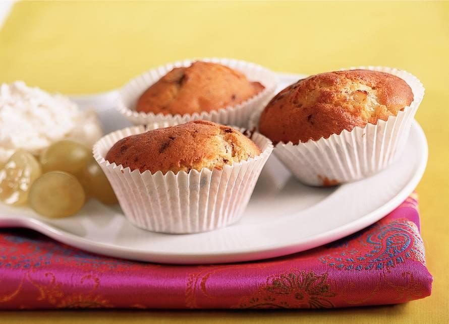 Druivenmuffins