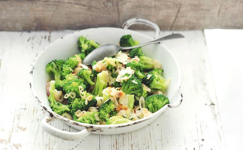 Broccoli met lambrusco en sjalot