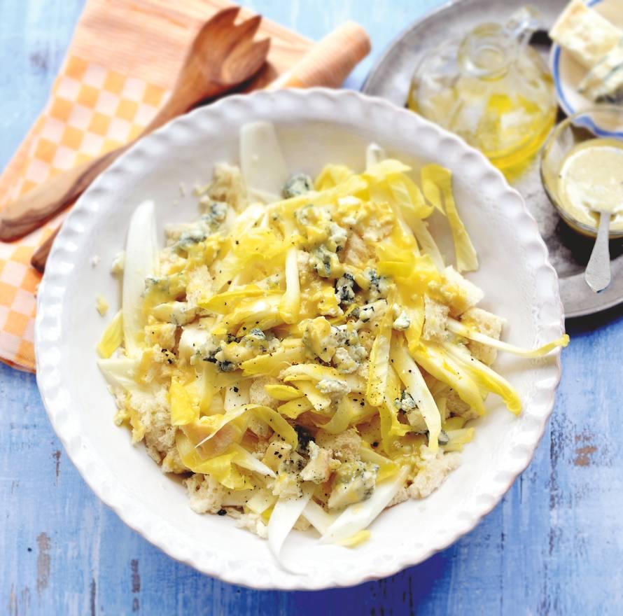 Salade met witlof en gorgonzola