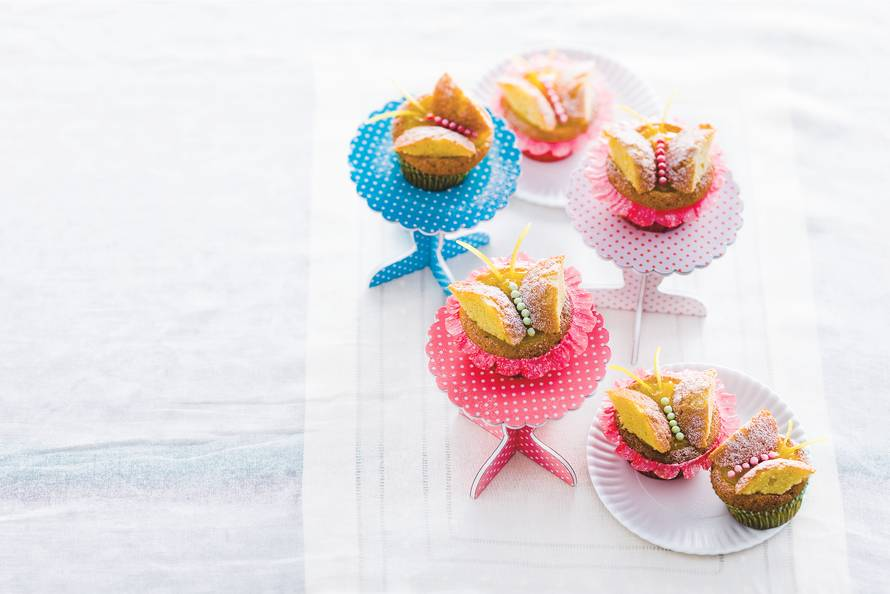 Vlindercupcakes