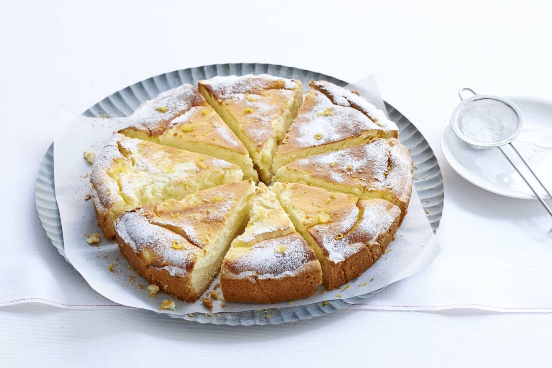 Oma's Amerikaanse cheesecake