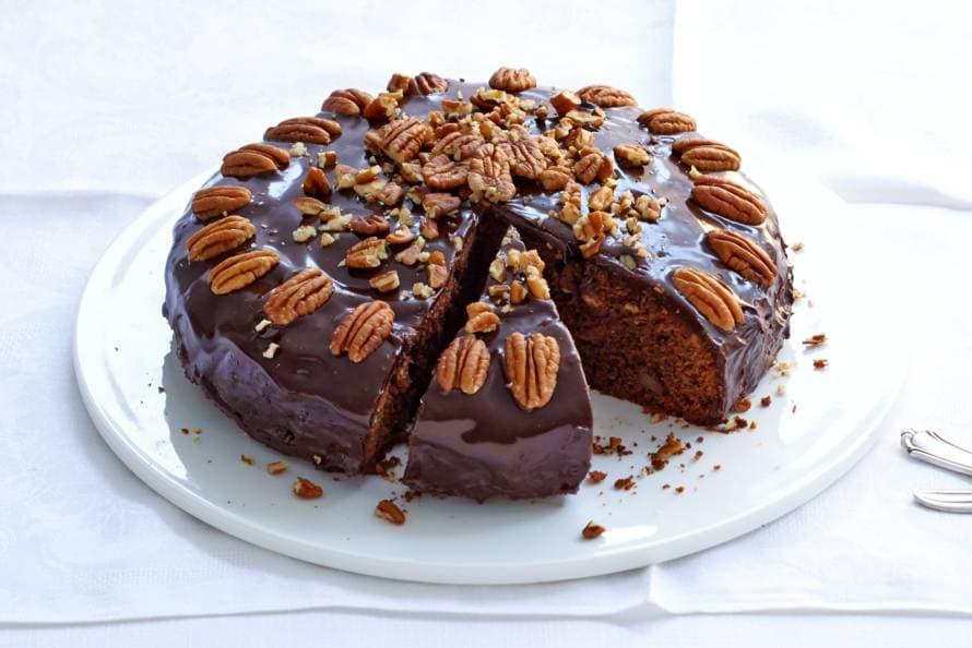 Amerikaanse chocoladetaart