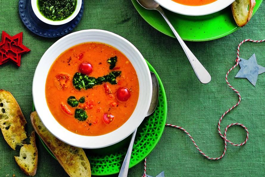 Tomatencrèmesoep