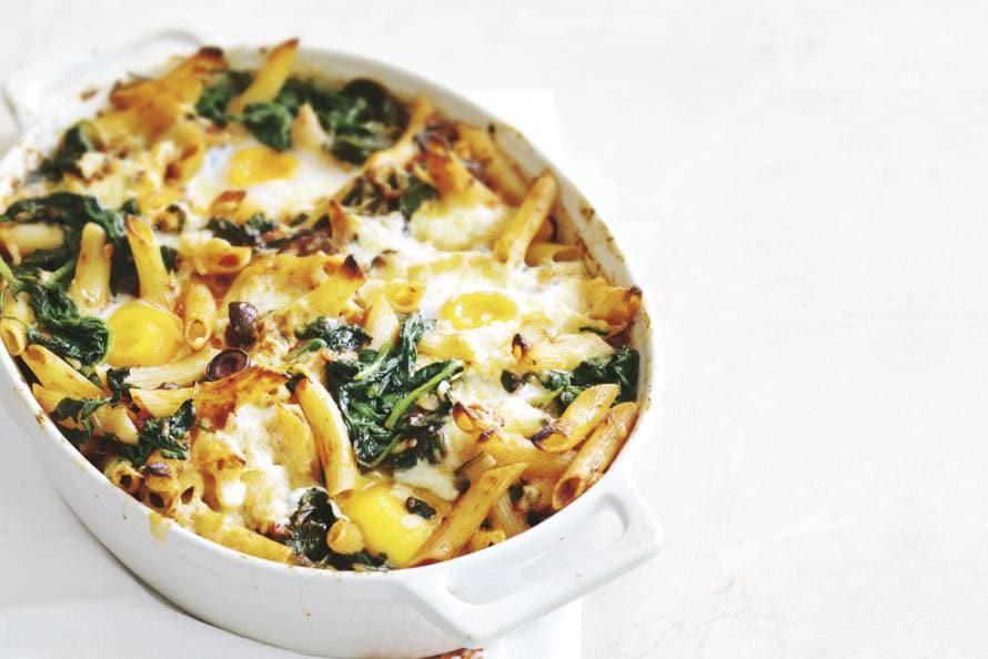 spinazie ovenschotel vegetarisch