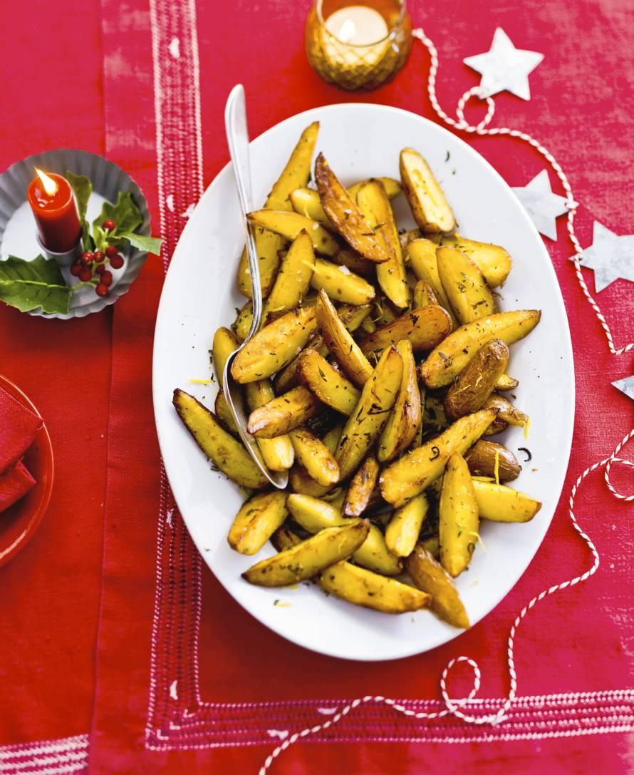 Kruidige citroenaardappelen uit de oven