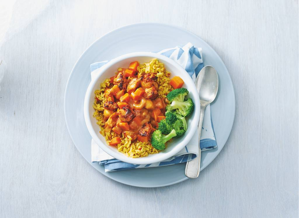 Kip tandoori met broccoli