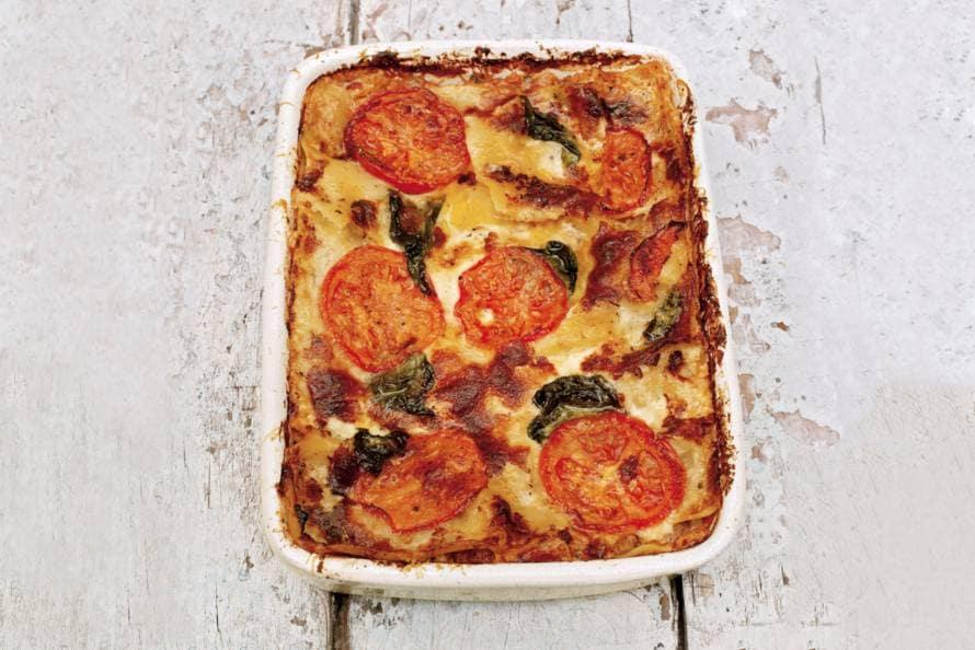 lasagne ah recept