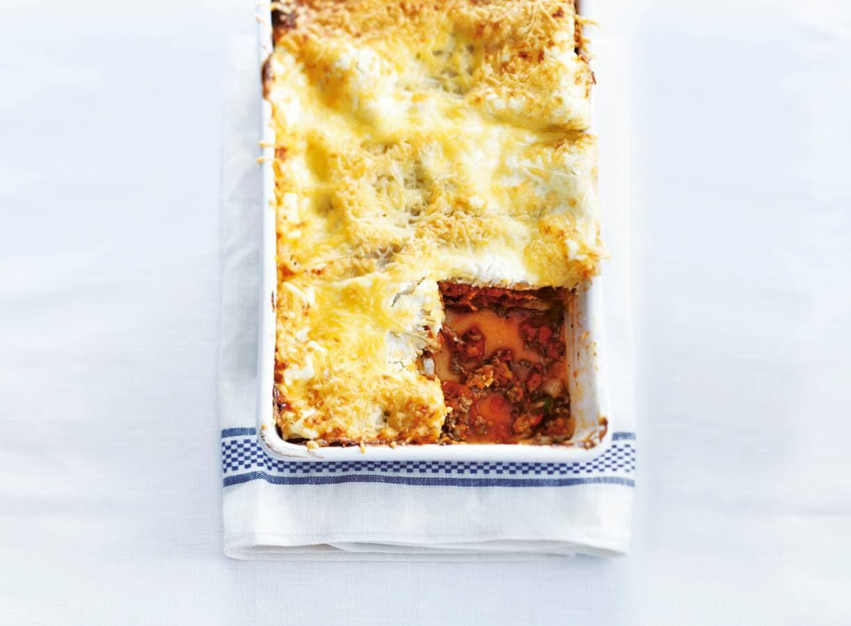 Lasagne met Italiaanse groenten