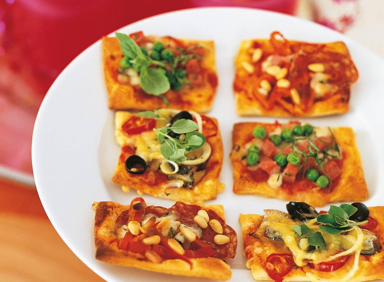 Pizzahapjes
