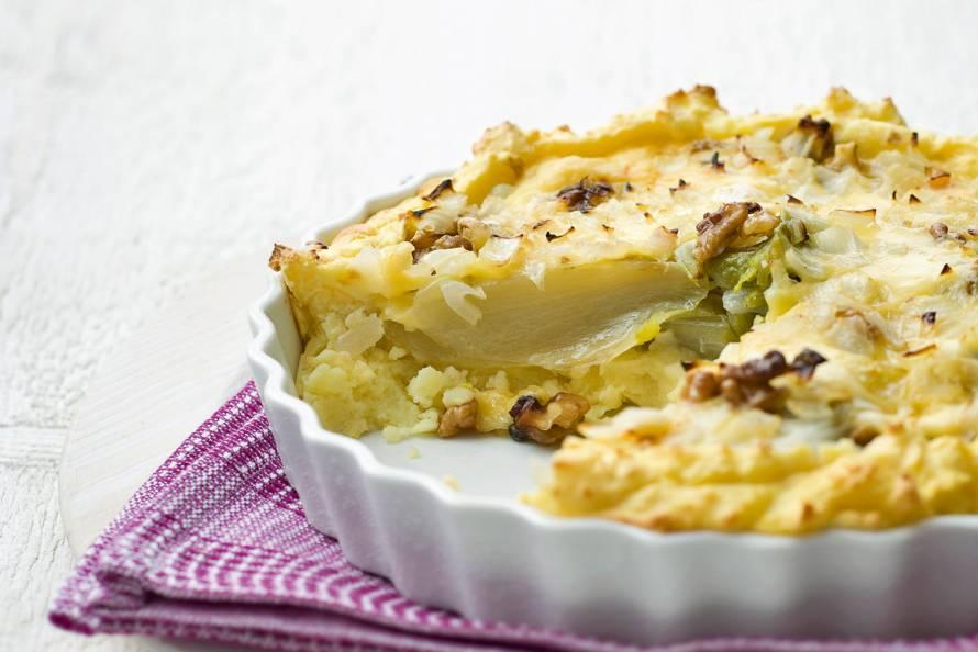 Aardappel-witloftaart