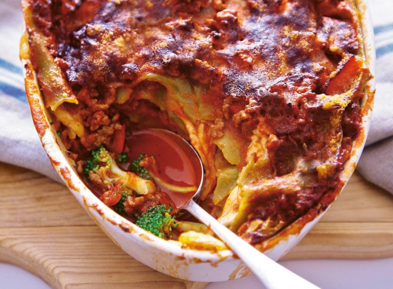 Lasagne met broccoli