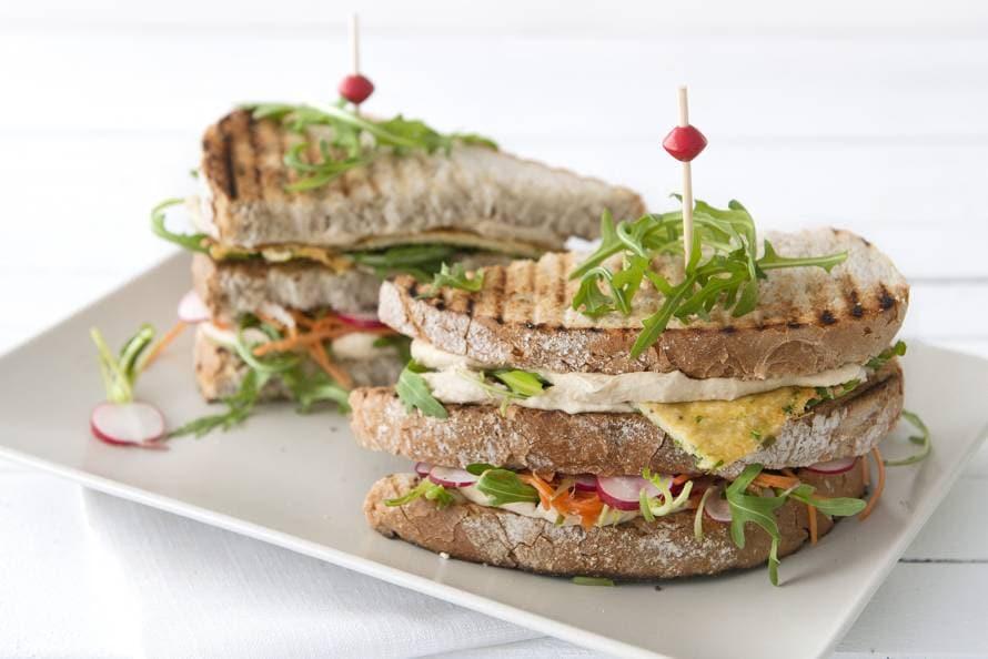 vegetarische sandwiches recepten