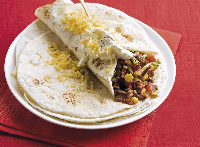 Mexicaanse tortilla