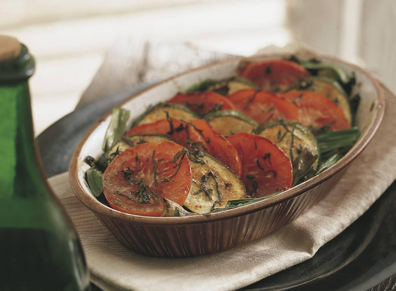 Ovenschotel van groenten