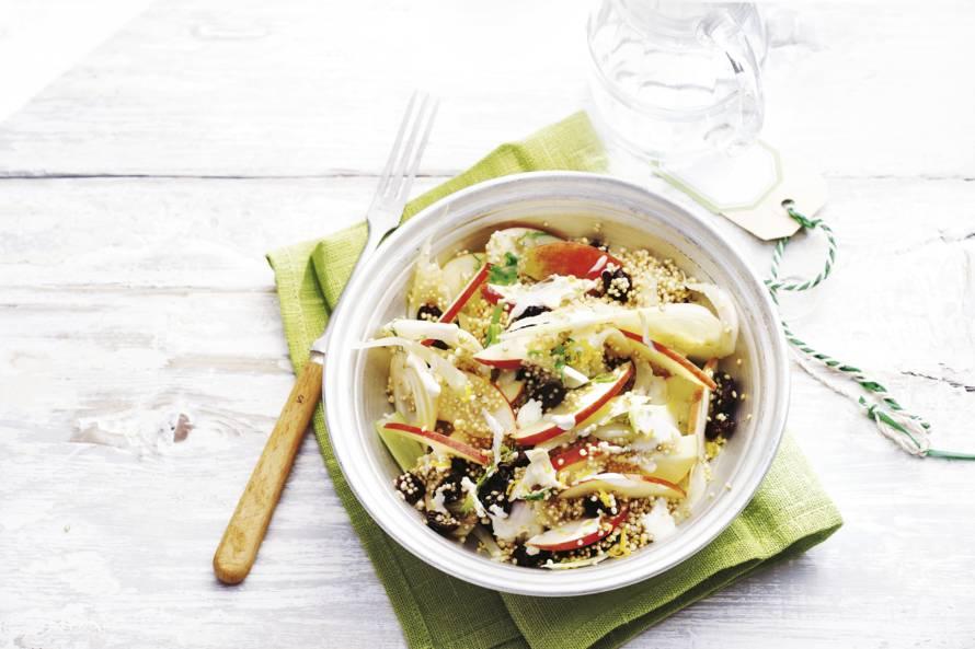 Quinoa-venkel-appelsalade