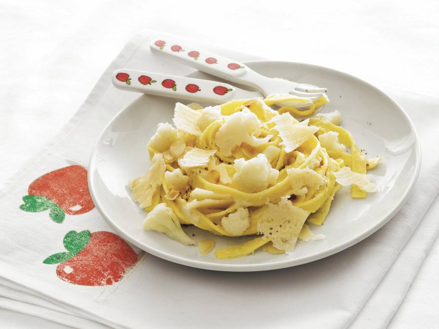 Sneeuwwitte pasta