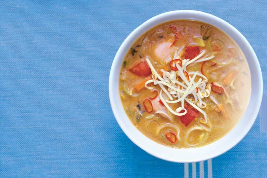 indonesische soep voorgerecht