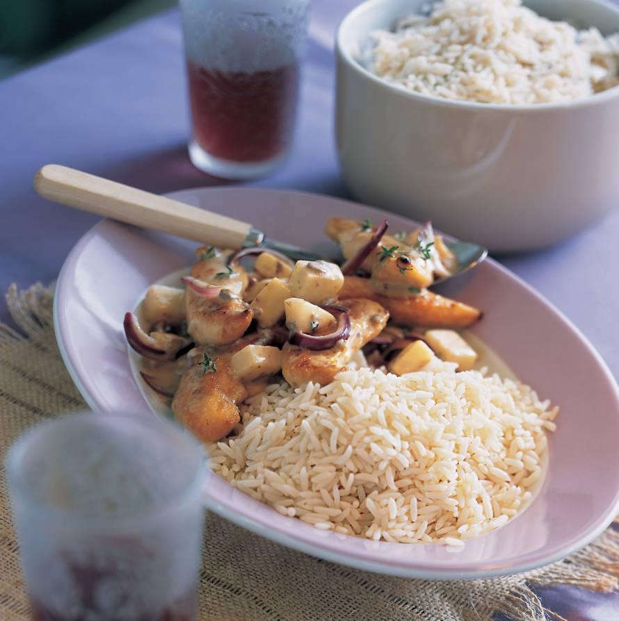Winters stoofpotje met rijst