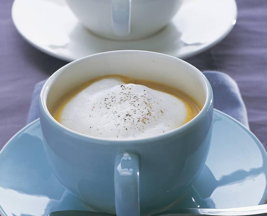 Cappuccinosoepje naar keuze