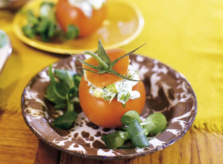 Gevulde tomaten