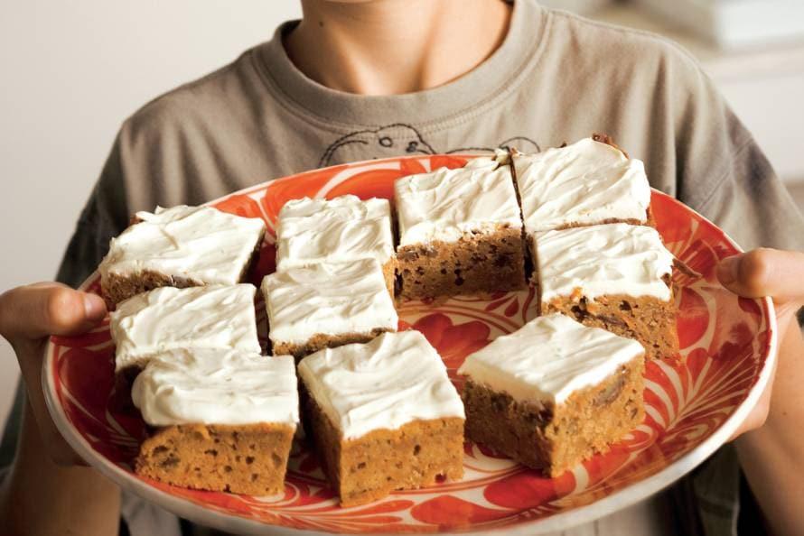 Worteltaartjes (carrot cakes)
