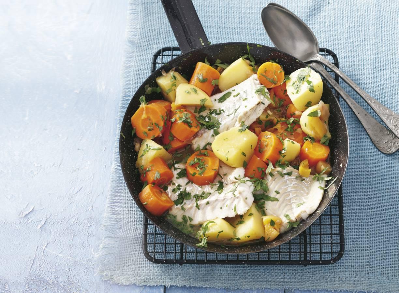 Aardappel-wortelstoof
