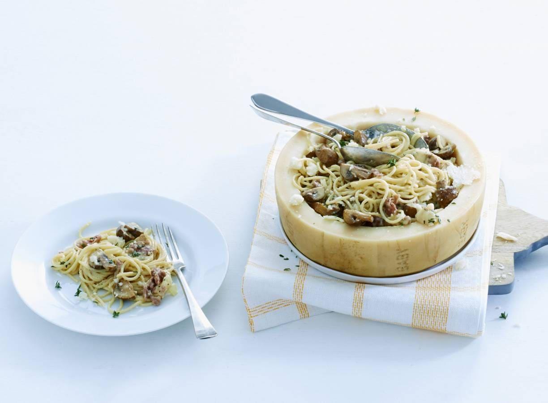 Pasta in Italiaanse kaas