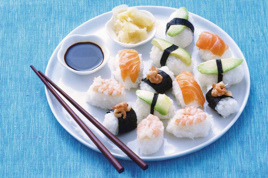 sushi gember maken