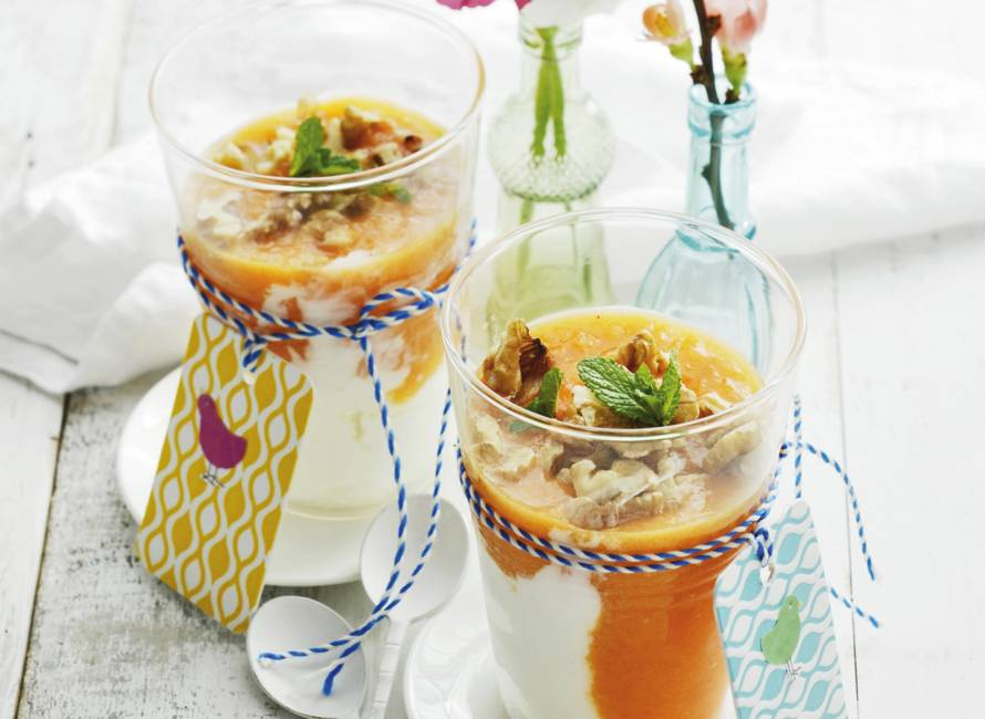 Zuivel-sundae