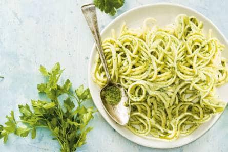 recept pesto pasta