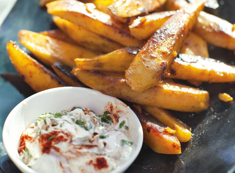 Aardappel met dip