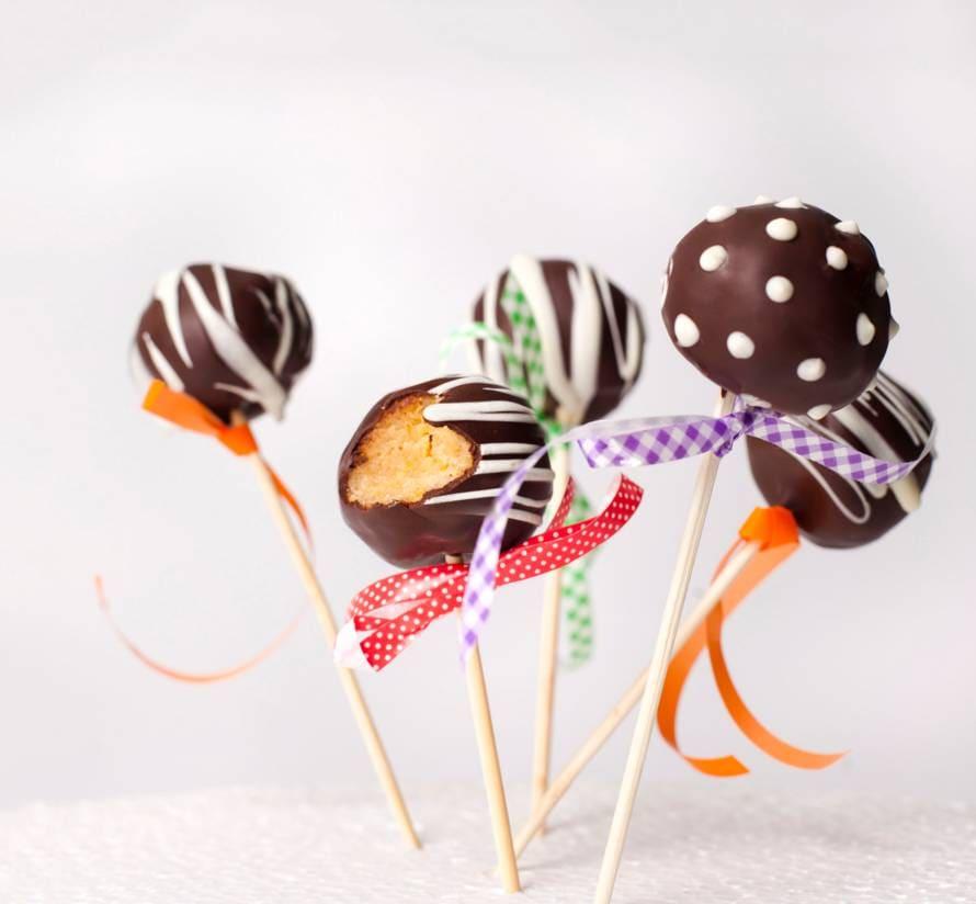 Zebra cakepops