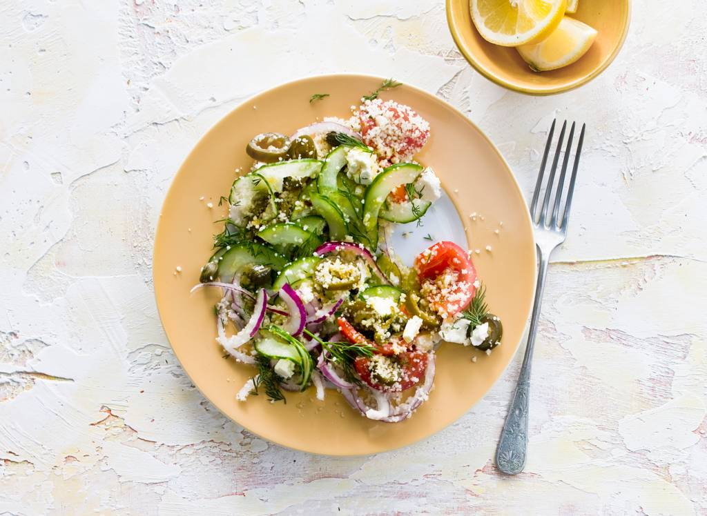 Griekse recepten met witte kaas
