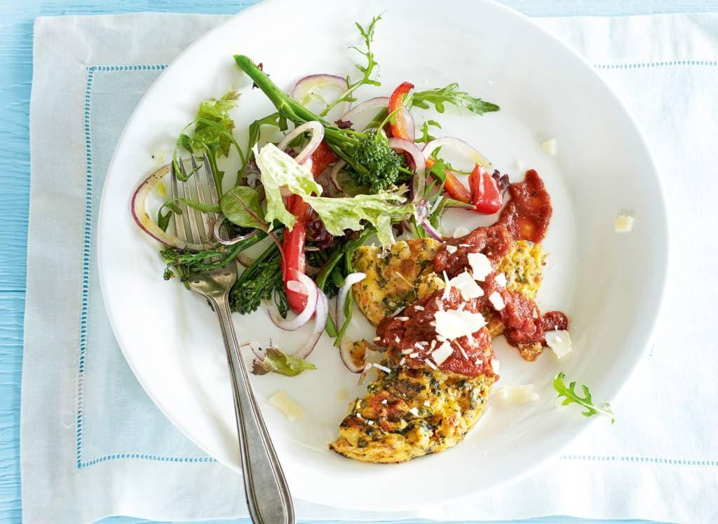 Toscaanse frittata & salade