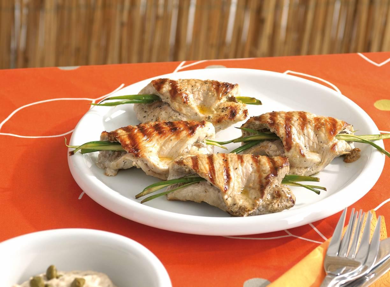 Varkensschnitzel met tonijnmayonaise