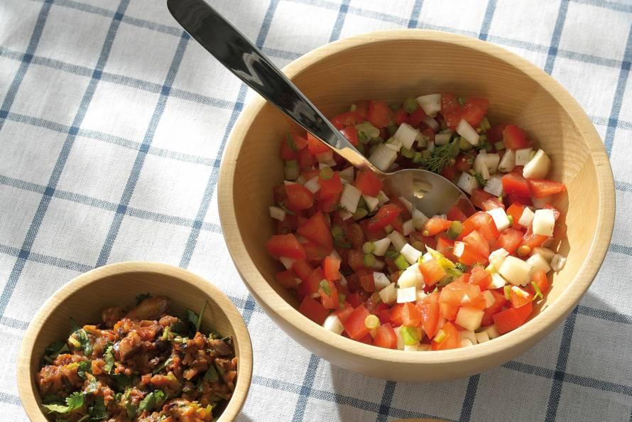 Venkel-tomaatsalsa