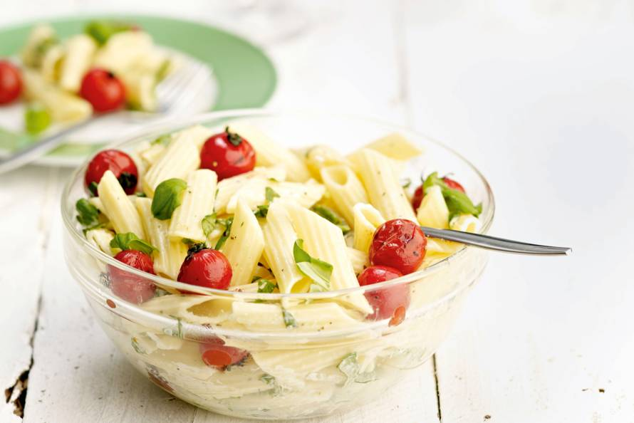 Barbecue-pastasalade
