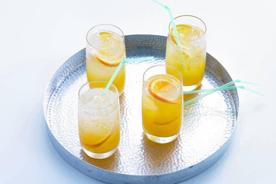 Longdrink van sinaasappel